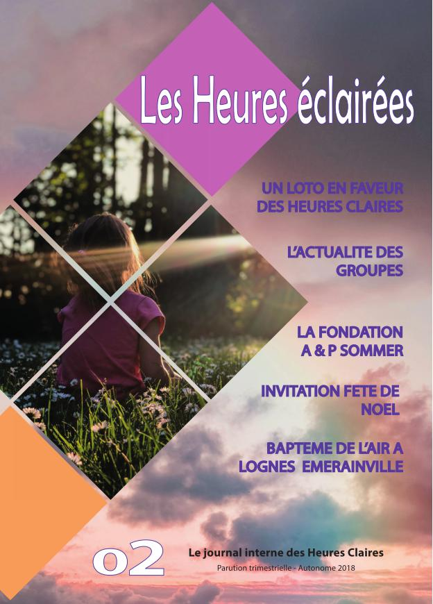 Journal Les heures eclairees 20183 p1