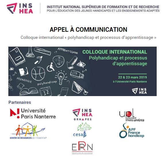 colloque phandcap apprentissage